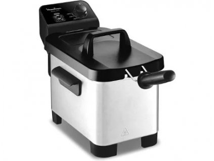 Poloprofesionální fritéza Moulinex AM331020 Black EasyPro 3L, 1200 g