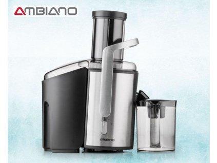 Profesionální odšťavňovač Ambiano 94159 / pro tvrdé a měkké ovoce / 800 W