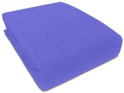 Prostěradlo Piruu Froté 90x200 cm - Modrá