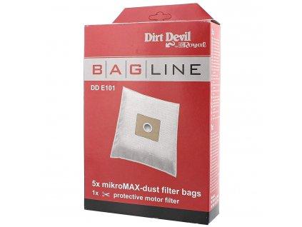Sáčky do vysavače Dirt Devil Bag Line E101 - 5 kusů