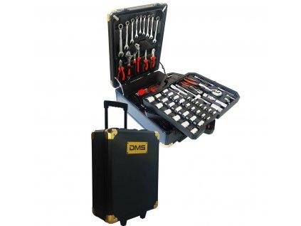 Sada nářadí DMS Germany TWK-749 v hliníkovém kufru - 749 kusů