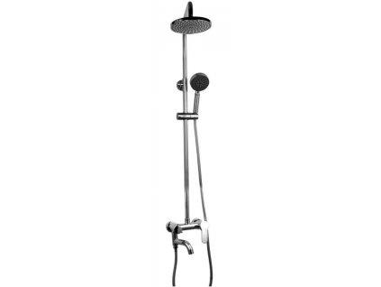 Sprchová souprava REA LOFT - Stříbrná