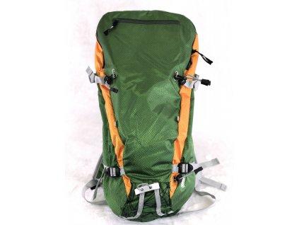 Trekingový batoh / krosna / 25l / turistický batoh / zelený