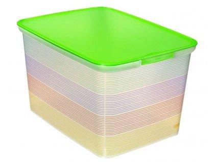 Úložný box Curver AMSTERDAM L - Stripes 04730-S29