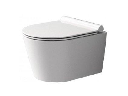 Závěsná WC mísa REA PORTER RIMLESS - C1401