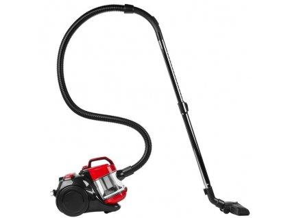 Cyklonový bezsáčkový vysavač Medion MD 18004 - červený/černý