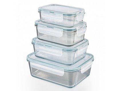 GOURMETmaxx - Skleněné nádoby na skladování potravin 8 ks