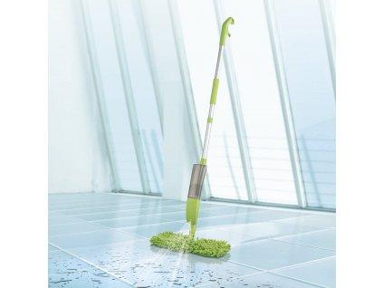 CLEANmaxx - Stříkací mop 2v1 / zelený