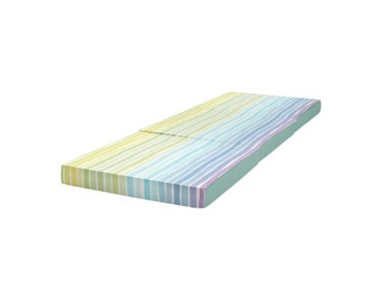 EmaHome - Skládací matrace 190x65 cm barevná