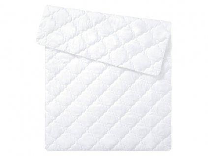 EmaHome - Prošívaná peřina 155 x 200 cm bílá