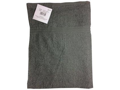 EmaHome - Ručník 50x100 cm bavlna / šedá