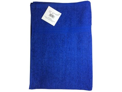 EmaHome - Ručník 50x100 cm bavlna / tmavě modrá