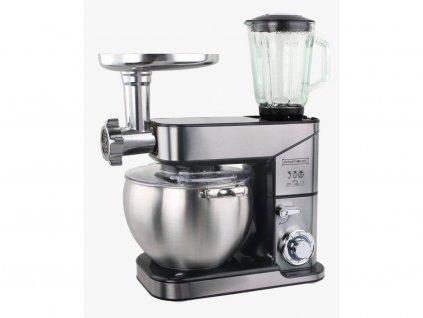 Kuchyňský robot Royalty Line RL-PKM2500BG 3v1 / 10 l / stříbrná / CELOKOVOVÝ