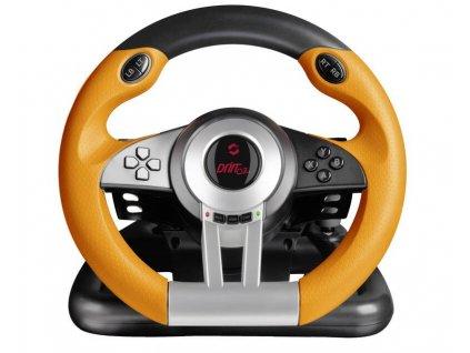 Volant Speed Link DRIFT O.Z. Racing Wheel PC (SL-6695-BKOR-01) černý/oranžový