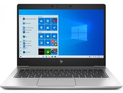 "Ntb HP EliteBook 830 G6 i5-8265U, 8GB, 256GB, 13.3"", Full HD, bez mechaniky, Intel UHD 620, BT, FPR, CAM, Win10 Pro - stříbrný"