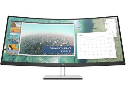 "Monitor HP E344c Curved / 34"" / LED / VA / 4ms / 3000:1 / 400cd/m2 / 3440 × 1440 / DP / černá / stříbrná"