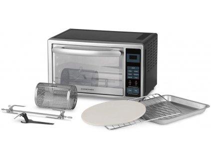 Gourmetmaxx - Infračervená mini trouba 28l s digitálním displejem 1500 W