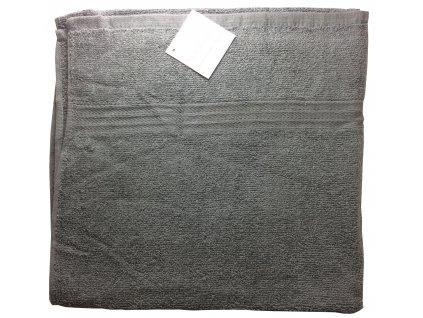 EmaHome - Osuška 70x140 cm bavlna / šedá