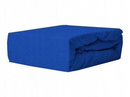 EmaHome - Froté prostěradlo 120x200 cm námořnická modrá 312