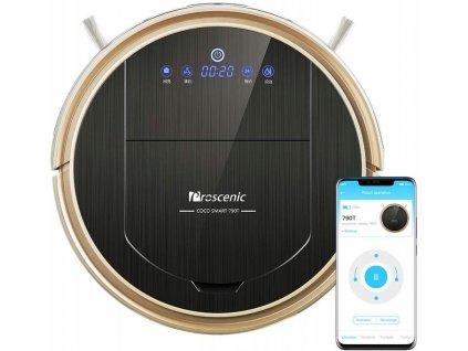 Proscenic 790T Robotický vysavač Vacuum Cleaner Max Power / zlato / černá
