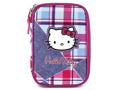 Školní jednopatrový XXL penál Hello Kitty