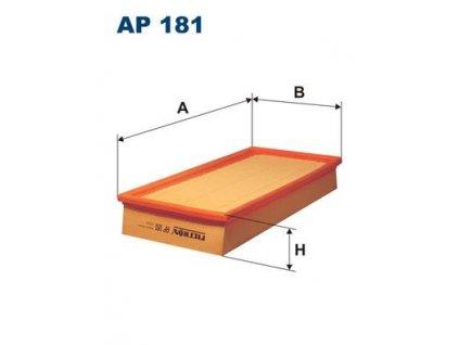 Vzduchový filtr FILTRON / AP181