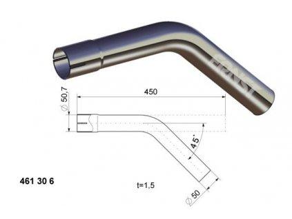 ERNST výfukové potrubí / univerzální