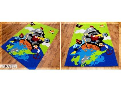 Koberec LOVELY-KIDS 140 x 200 cm - PIRAT