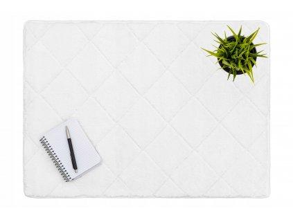 Plyšový kobereček RABBIT / Krémová 50 x 70 cm