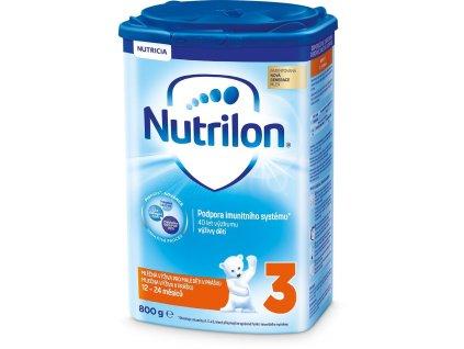 Batolecí mléko Nutrilon 3 / 800g / Poškozený obal