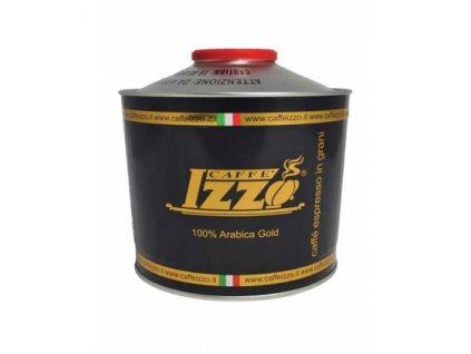 Izzo Caffé Gold zrnková káva / 1 kg / Poškozený obal