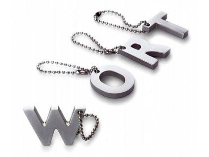 """Kroužek na klíče My letters """"W"""" Philippi Keys"""