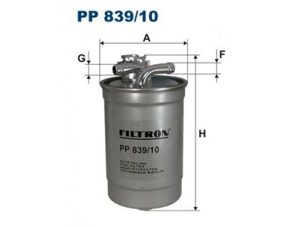 Palivový filtr FILTRON PP 839/10
