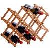 Zeller Stojan na víno / bambus / 10 lahví / 38 x 15 cm / 13567