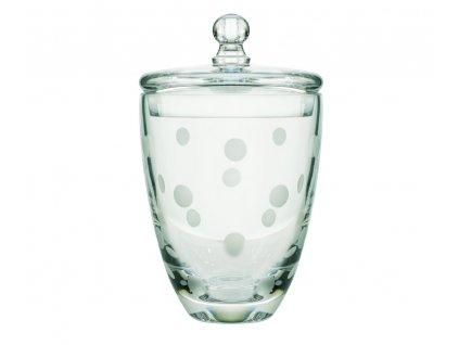 Křišťálová dóza Cristal de Sevres Pop - 22 cm