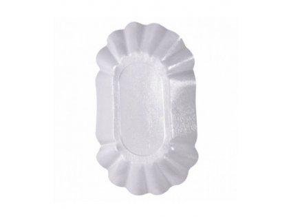 Sada bílých plastových misek 250 ks