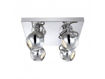 Stropní bodové LED svítidlo Globo Aramid 57880-4
