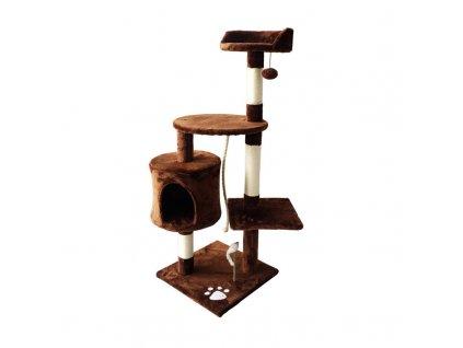 Škrabadlo pro kočky Rita Royalty Pets 40 x 40 x 113 cm