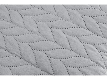 AYDIN Bedding - Přehoz přes postel 160x245 cm bavlna/ šedá