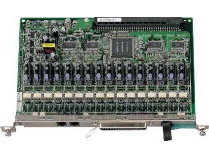 Karta 16 vnitřních analogových poboček Panasonic KX-TDA0174X pro KX-TDA100/20
