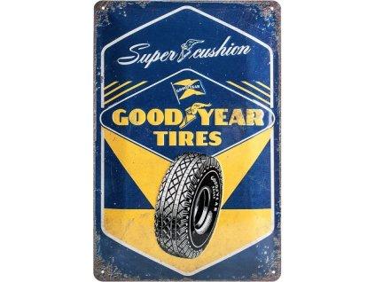 Plechová cedule Goodyear Tires 30x20 cm