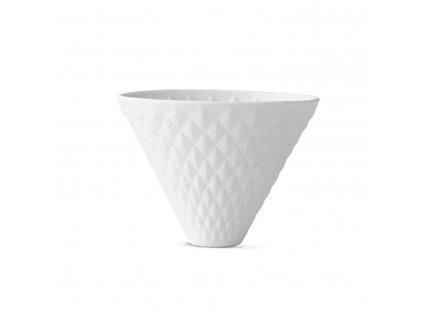 Kávový filtr BEEM Pour Over k zavěšení - bílý