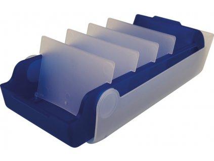 Kartotéka / úložný box na učení Helit Beebox / modrá