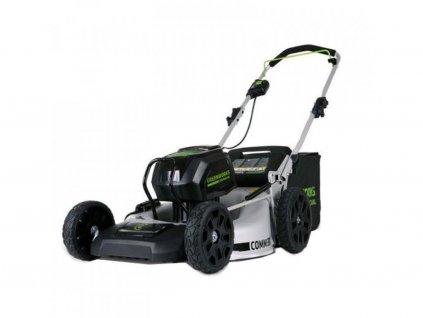 EXTRA VÝKONNÁ Akumulátorová kosačka na trávu Greenworks GC82LM46SP / 82V / 46 cm