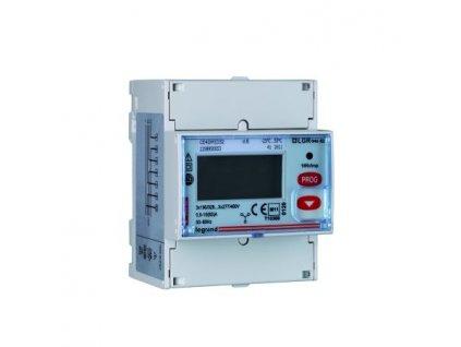Třífázový měřič energie až 63 A, přímé připojení s pulzním výstupem EMDX3