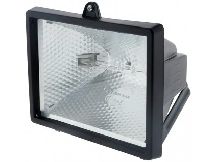 Černý halogenový projektor 400 W bez detektoru - Ip54 Ce