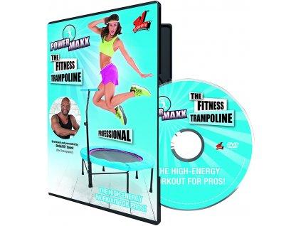Powermaxx - Profesionální tréninkové DVD Fitness PRO na trampolíně