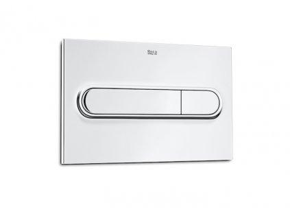 ROCA - PL1 Dual - tlačítko / lesklý chrom