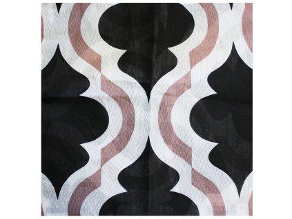 Povlak na polštář se vzorem 40 x 40 cm BN-020