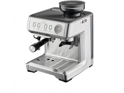 Pákový kávovar Solis Grind & Infuse Compact / nerez